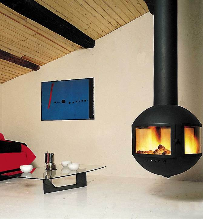 chemin e focus agorafocus 630 dv art du feu. Black Bedroom Furniture Sets. Home Design Ideas