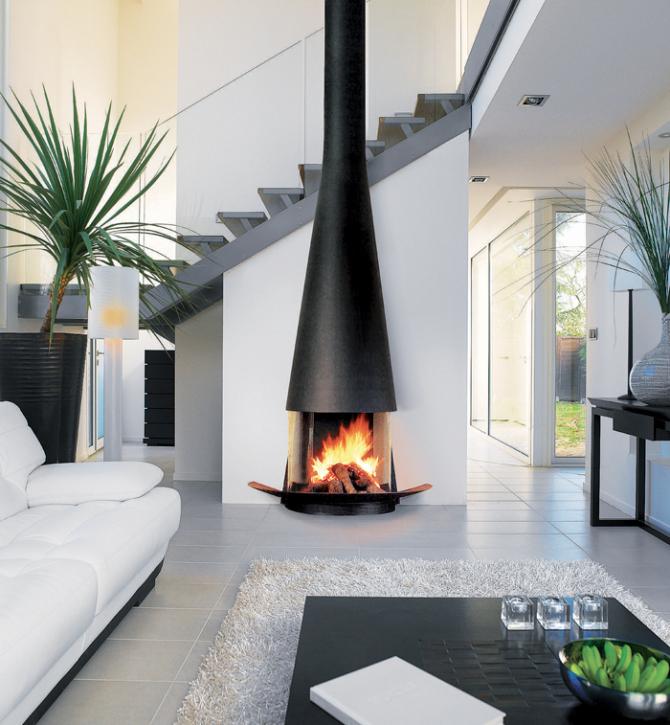 chemin e focus filiofocus 1600 mural vitr art du feu. Black Bedroom Furniture Sets. Home Design Ideas