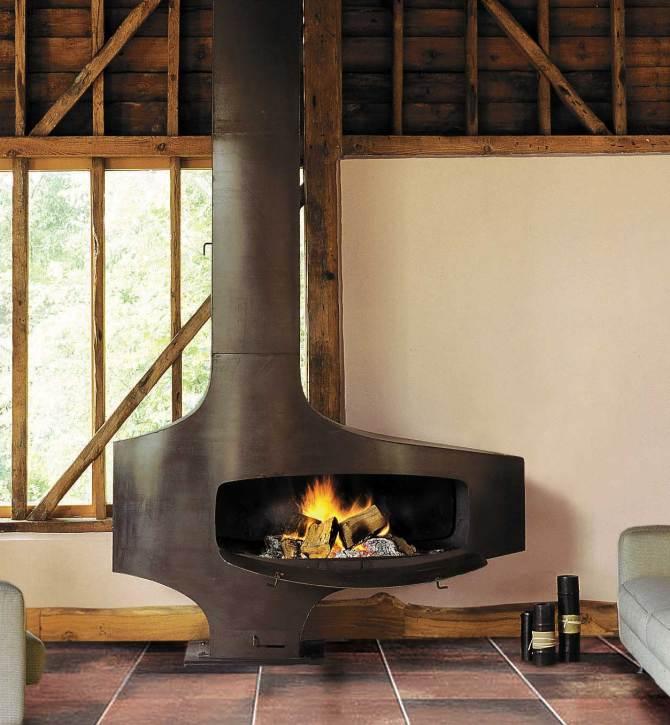 chemin e focus h t rofocus art du feu. Black Bedroom Furniture Sets. Home Design Ideas