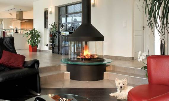 cheminee suspendue focus prix. Black Bedroom Furniture Sets. Home Design Ideas