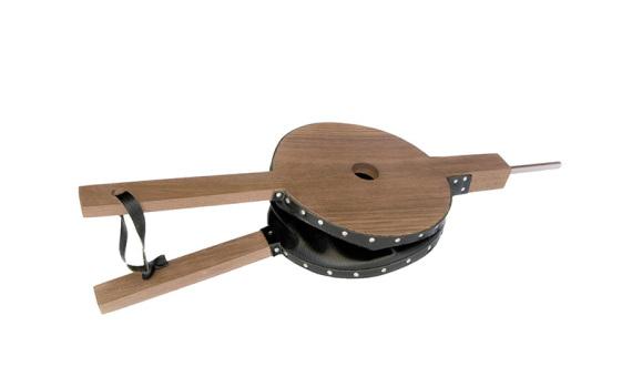 Accessoire soufflet bois chêne clair