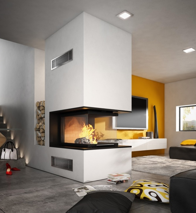 chemin e totem epi 900 art du feu. Black Bedroom Furniture Sets. Home Design Ideas