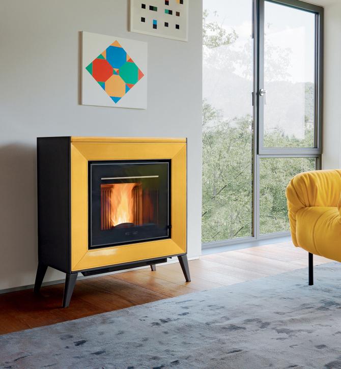 po le piazzetta line art du feu. Black Bedroom Furniture Sets. Home Design Ideas